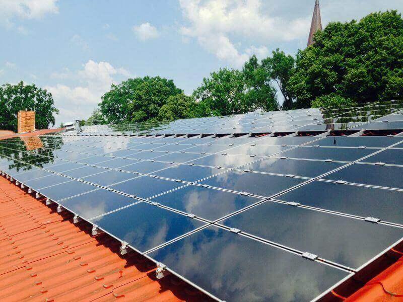 Solarreinigung kann man auch Finanzieren