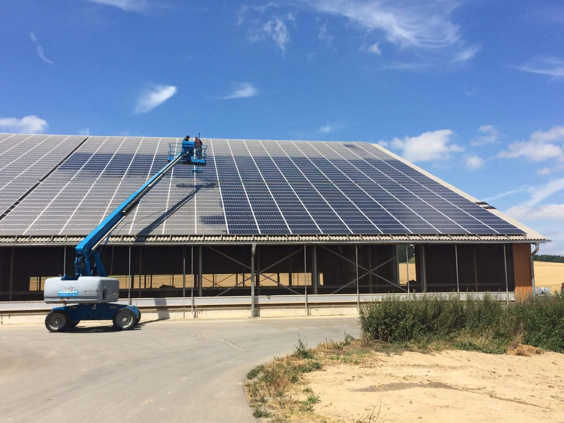 Solares Potenzial von PV-Dachanlagen